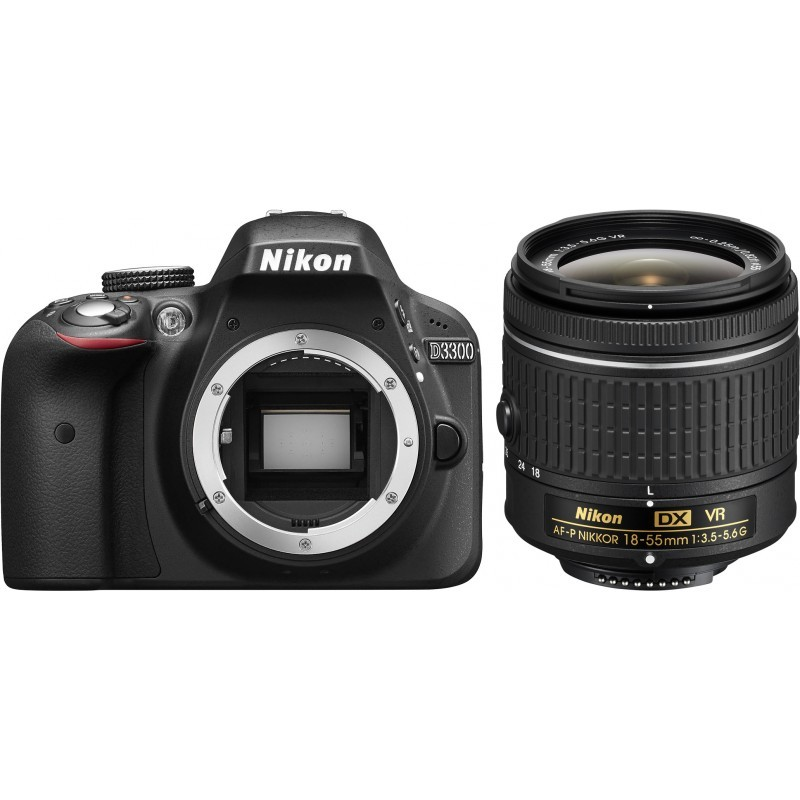 Nikon D3300 + 18-55mm AF-P VR Kit, must