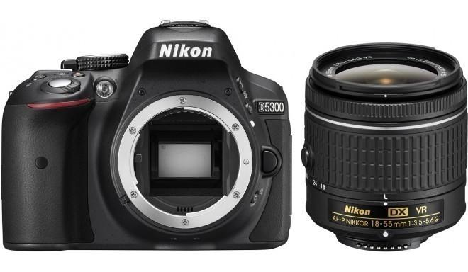Nikon D5300 + 18-55mm AF-P VR Kit, must