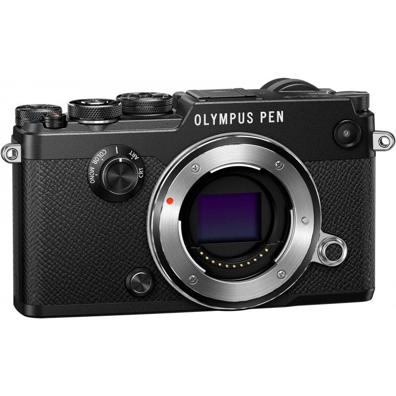 olympus pen f body black mirrorless cameras photopoint. Black Bedroom Furniture Sets. Home Design Ideas