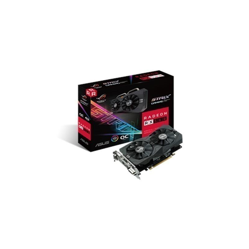 Asus AMD, 4 GB, Radeon RX 560, GDDR5, PCI Exp