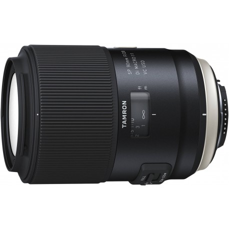 Tamron SP 90мм f/2.8 Di VC USD Macro объектив для Nikon