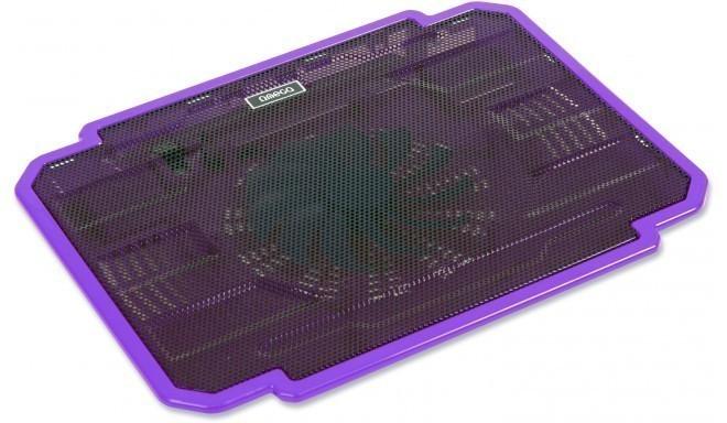 Omega sülearvuti jahutusalus Ice Box, lilla