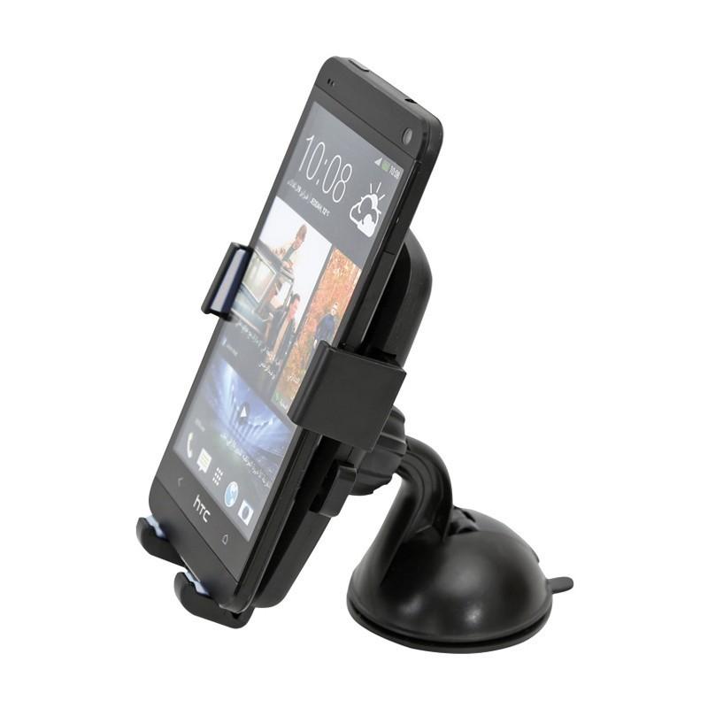 Omega smartphone car & bike holder OUBCHKG, grey