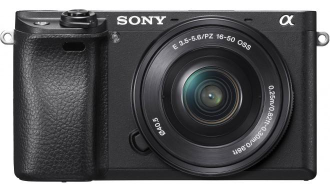 Sony a6300 + 16-50мм Kit, черный