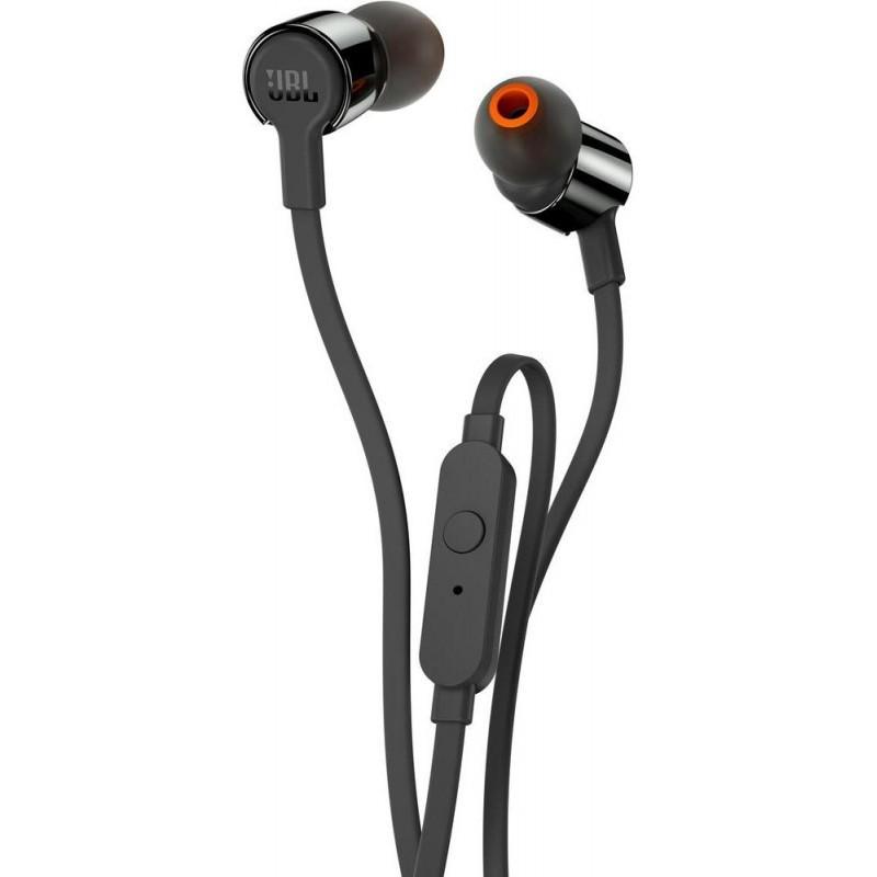 JBL kõrvaklapid + mikrofon T110, must