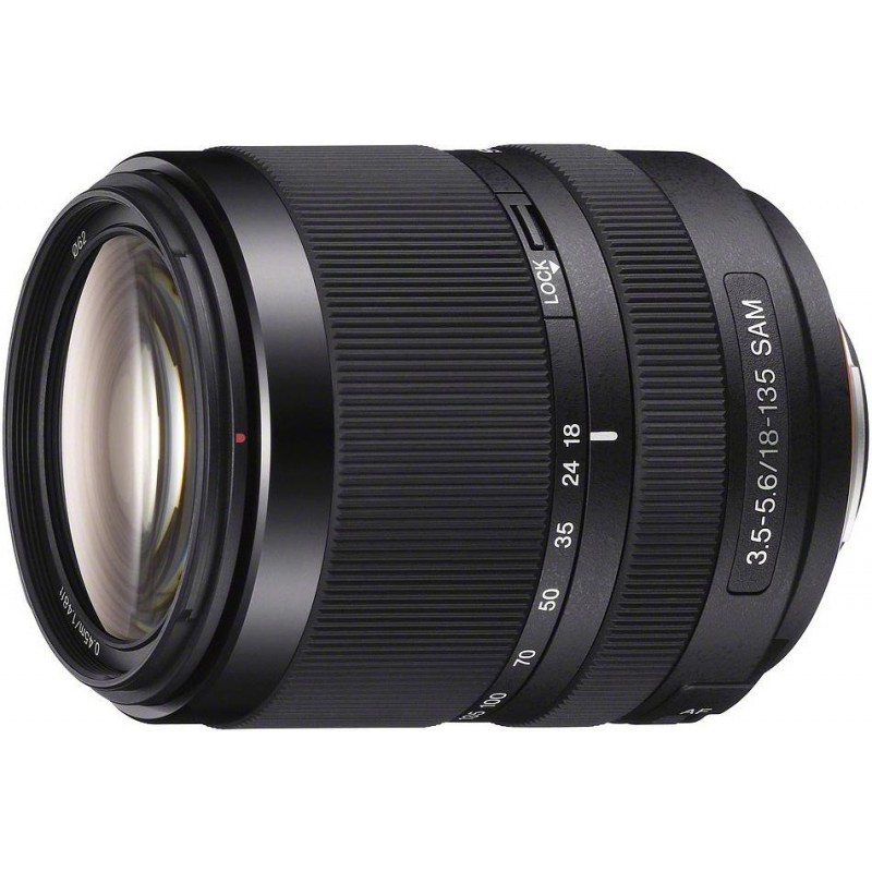 Sony DT 18-135mm f/3.5-5.6 SAM objektiiv