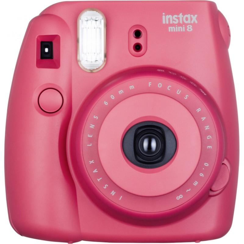 Fujifilm Instax Mini 8 kit, tumeroosa
