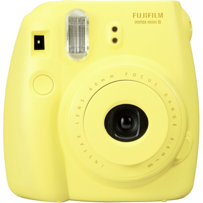 Fujifilm Instax Mini 8 Kit Yellow