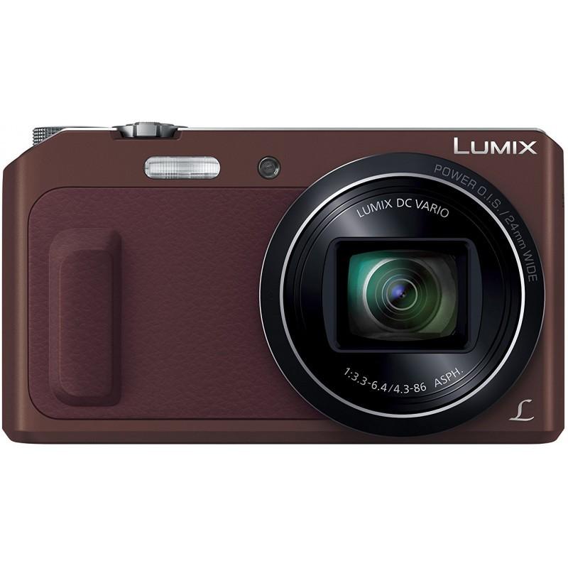 Panasonic Lumix DMC-TZ57, brown