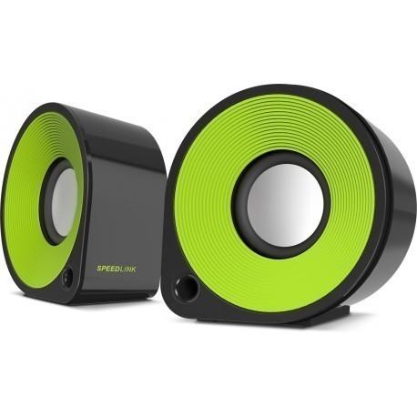 Speedlink колонки Ellipz (SL-81000-BKGN), зеленый