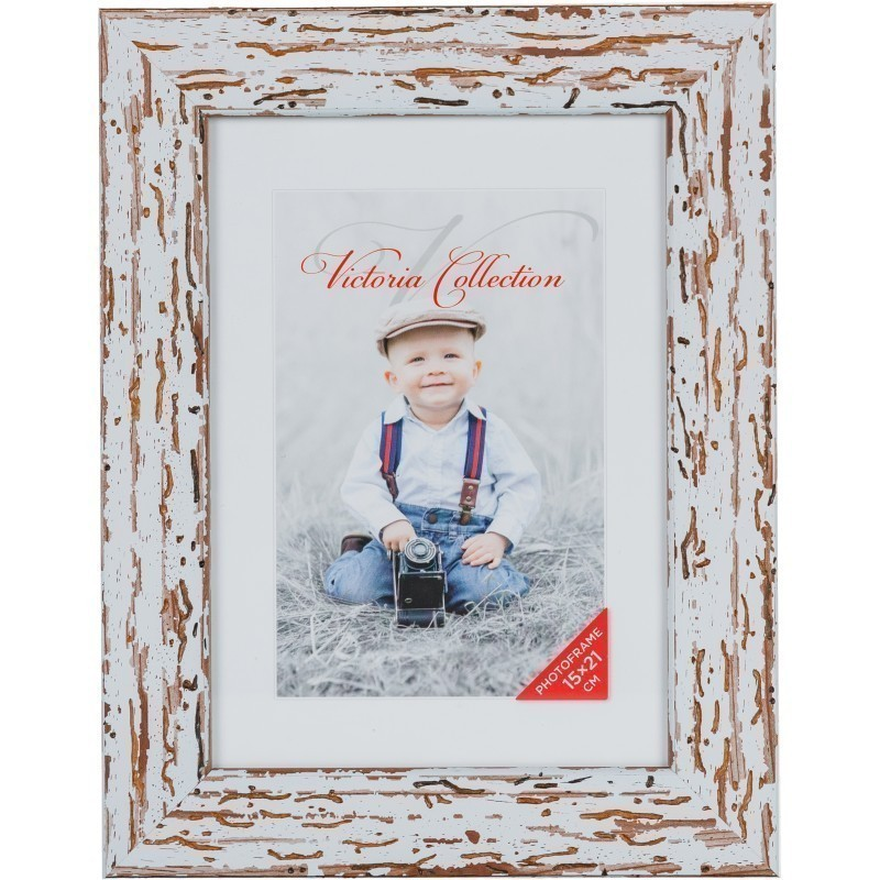 Photo frame Malta 15x21, white (VF2527) - Photo frames - Photopoint