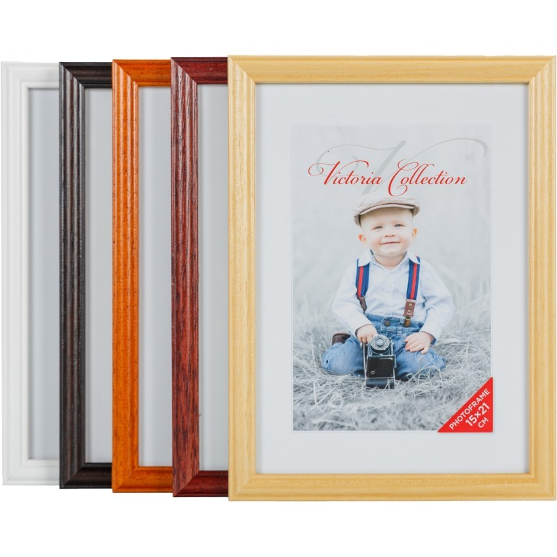Photo frame Puma 15x21, black (VF2446) - Photo frames - Photopoint