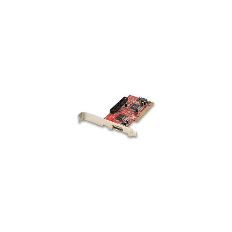 2 Port SATA + 1 x PATA Card, Low Profile Option, RAID Function, PCI