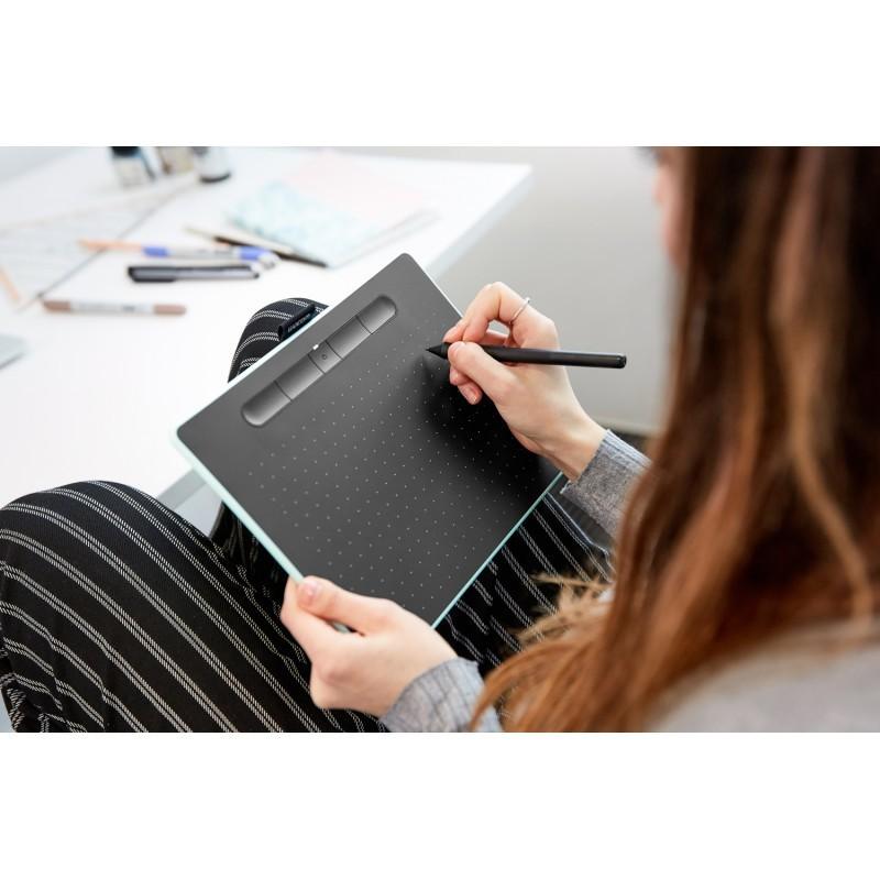 Wacom graafikalaud Intuos Comfort Plus Pen Bluetooth M, pistaatsiaroheline