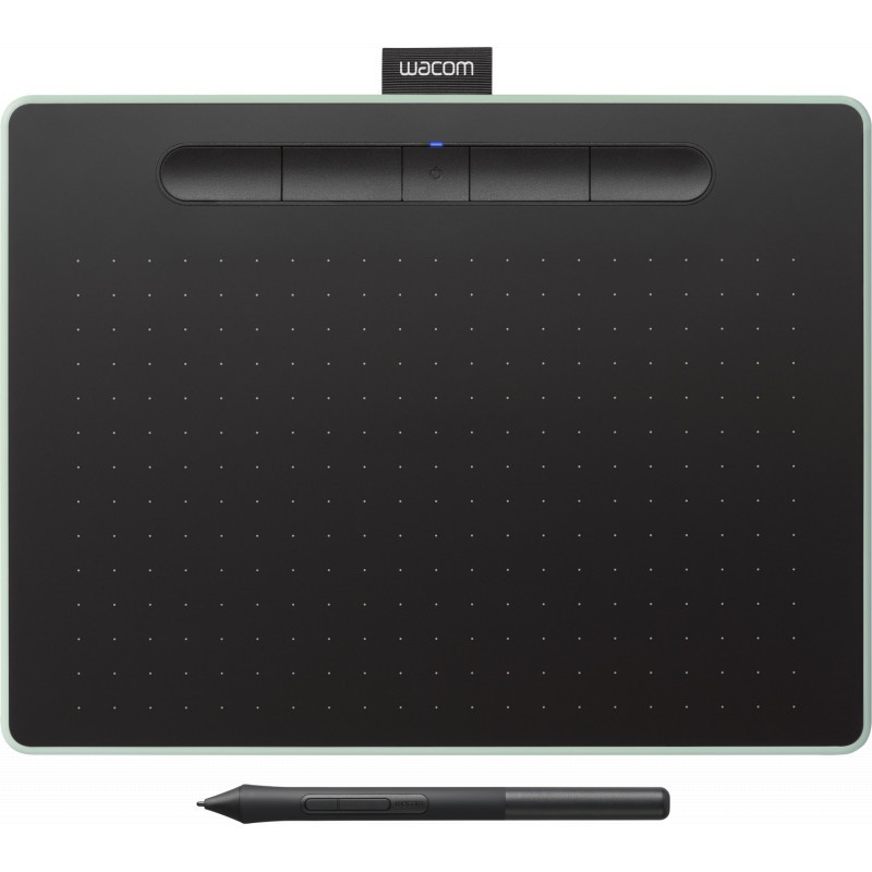 Wacom графический планшет Intuos M Bluetooth, зеленый