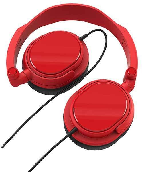 Vivanco kõrvaklapid DJ20, punane (36516..