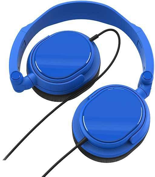 Vivanco kõrvaklapid DJ20, sinine (36517)