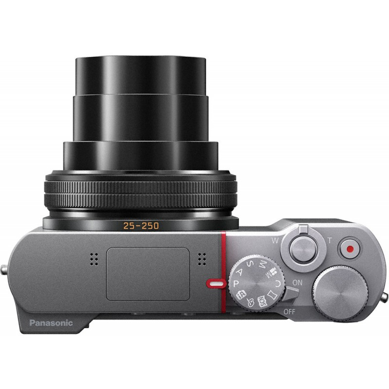 panasonic lumix dmc tz100 silver compact cameras photopoint. Black Bedroom Furniture Sets. Home Design Ideas