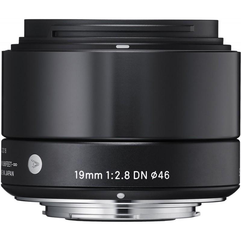 Sigma 19mm f/2.8 DN Art objektiiv Sonyle, must