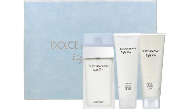 Dolce&Gabbana Light Blue Pour Femme Eau de Toilette 100ml komplekts