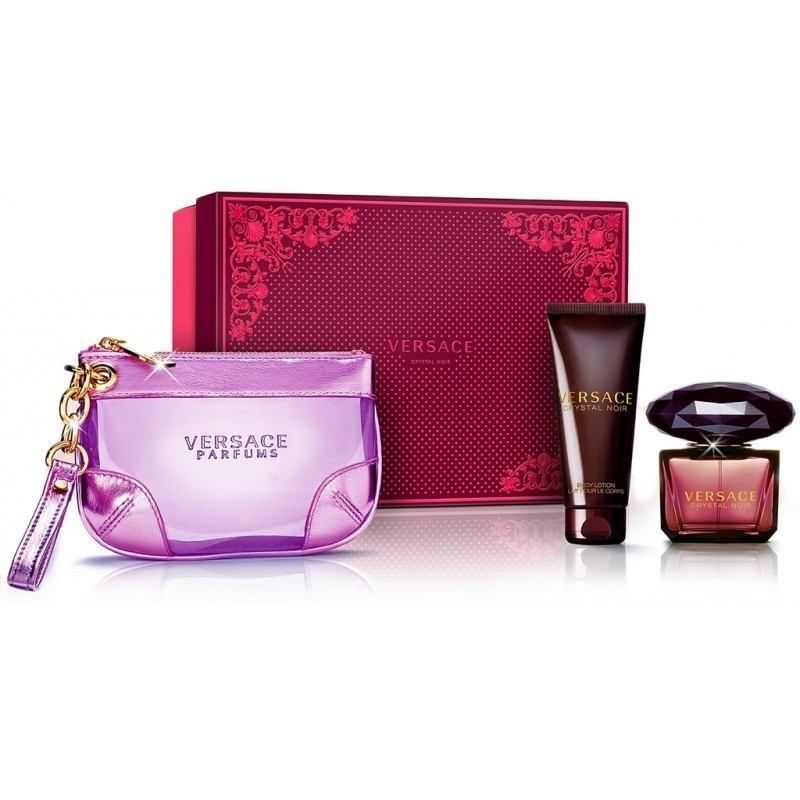 Versace Crystal Noir Pour Femme Eau de Parfum 90ml komplekt