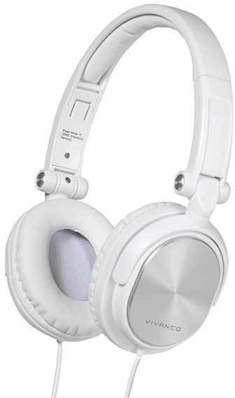 Vivanco kõrvaklapid DJ30, valge (36521)