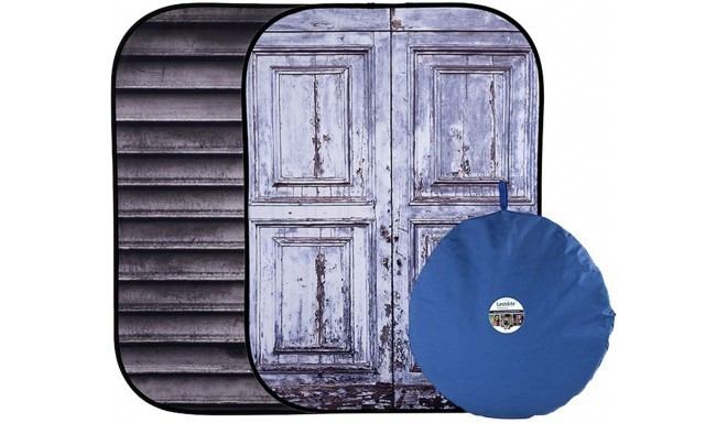 Lastolite taust Urban Collapsible 1,5x2,1m, shutter / distressed door (LL 5717)