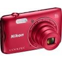 Nikon Coolpix A300, red
