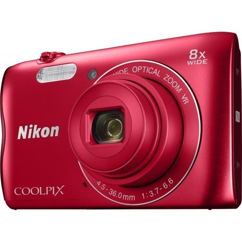 Nikon Coolpix A300, punane