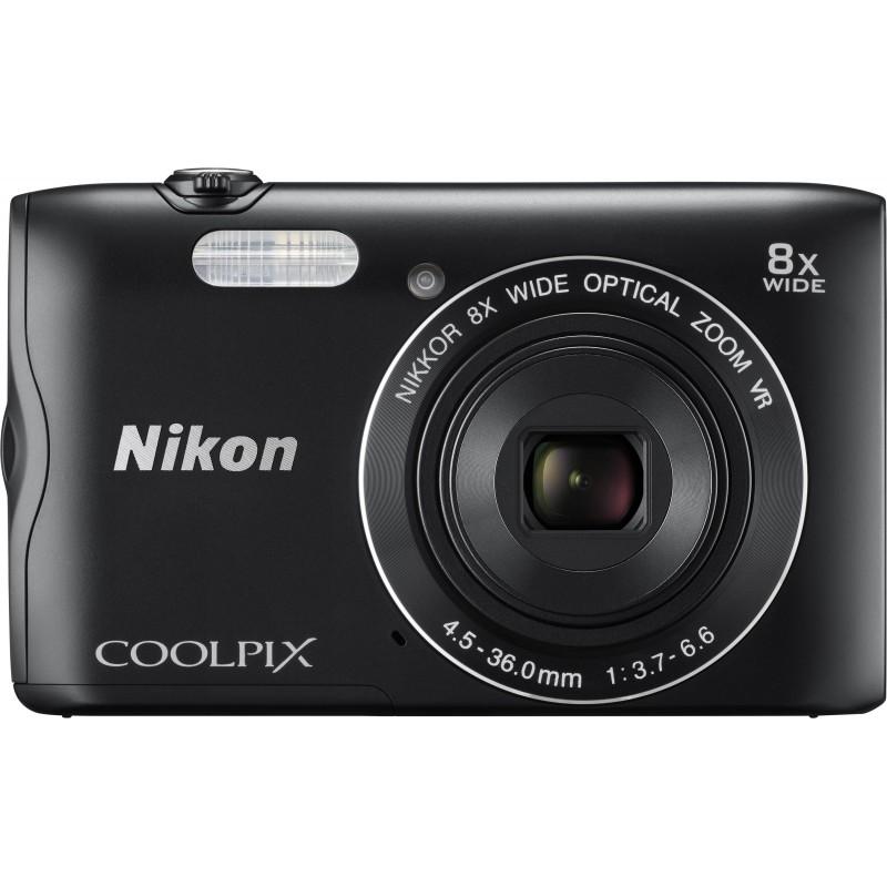 Nikon Coolpix A300, черный