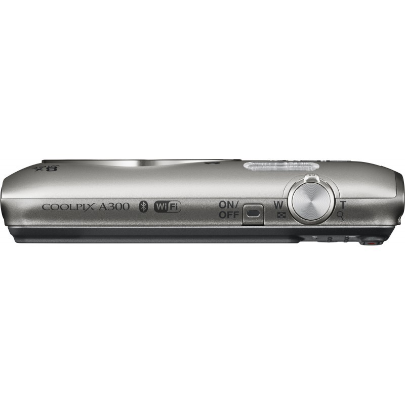 Nikon Coolpix A300, hõbedane