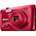 Nikon Coolpix A300, Lineart red