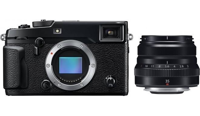 Fujifilm X-Pro2 + 35mm f/2.0, melns