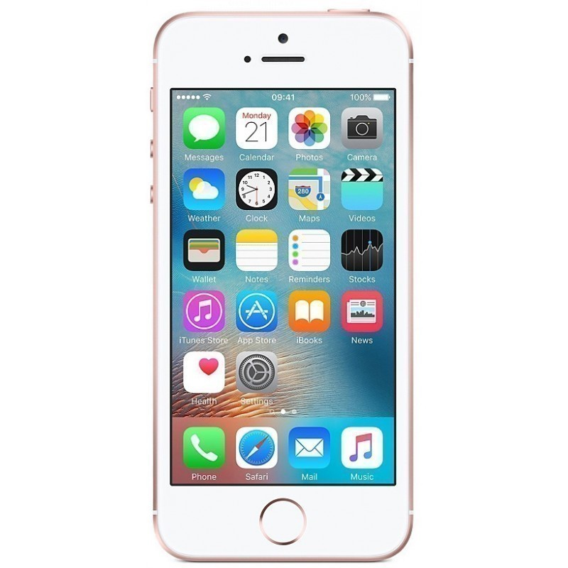 Apple iPhone SE 64GB, розовый