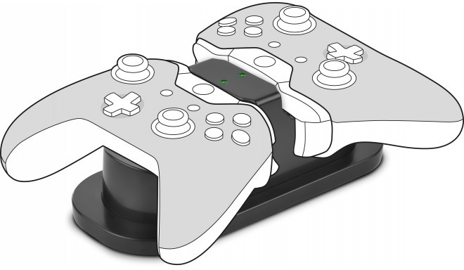Speedlink зарядное устройство Twindock Xbox, черный (SL-250000-BK)