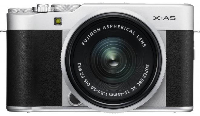 Fujifilm X-A5 + 15-45mm Kit, sudrabots