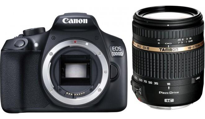 Canon EOS 1300D + Tamron 18-270mm VC PZD