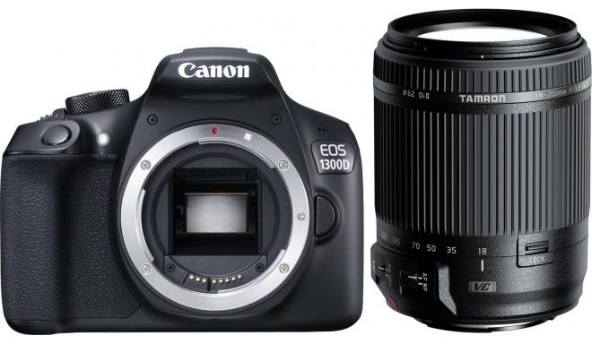 Canon EOS 1300D + Tamron 18-200mm VC