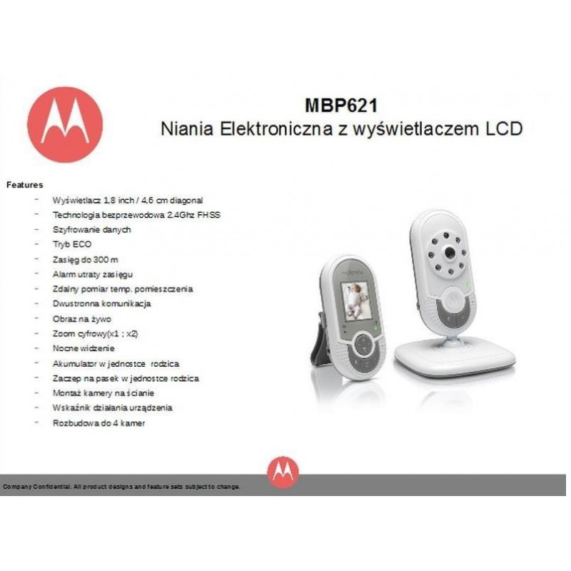 motorola mbp621 baby monitor baby monitors photopoint. Black Bedroom Furniture Sets. Home Design Ideas