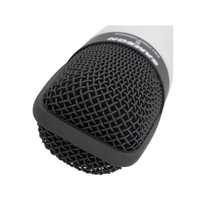 SAMSON C01 XLR Condenser Microphone | cardioid | gold-plated XLR | case