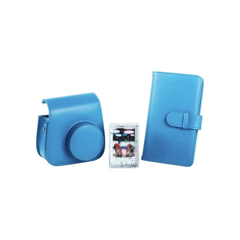 Fujifilm Instax Mini 9 vutlar + album + pildiraam, cobalt blue