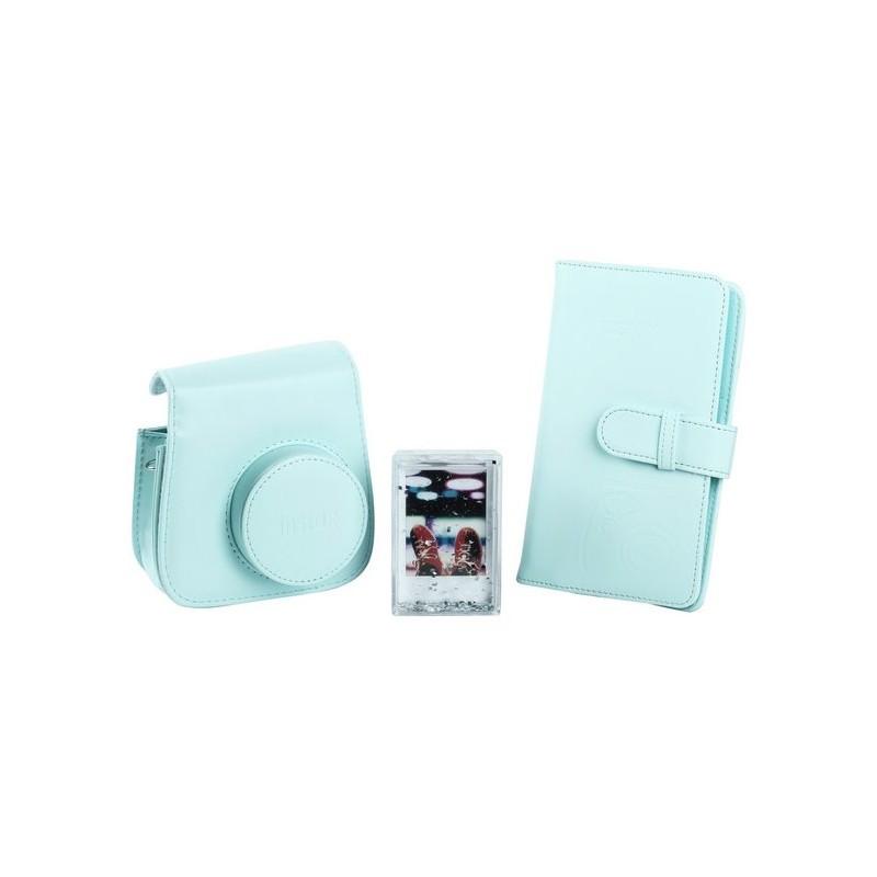 Fujifilm Instax Mini 9 vutlar + album + pildiraam, ice blue