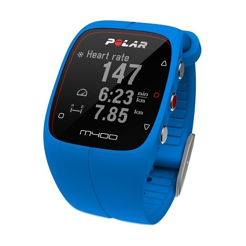 Gps Car Tracker >> Polar M400 HR, blue - Fitness watches - Photopoint