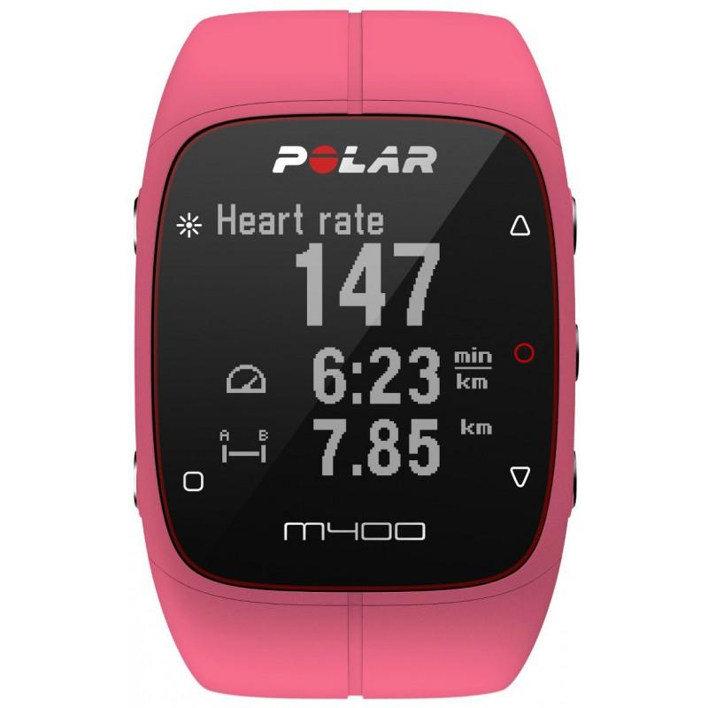 Polar M400 HR, roosa