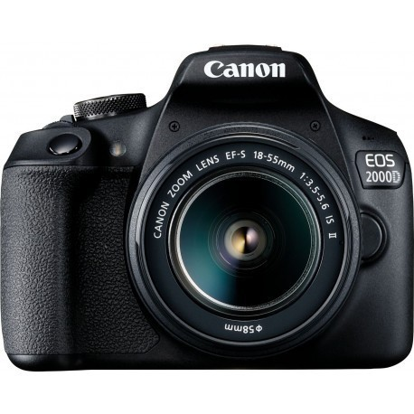 Canon EOS 2000D + 18-55mm IS II Kit, black