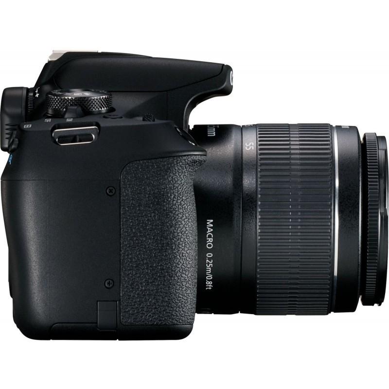 Canon EOS 2000D + 18-55mm IS II Kit, black