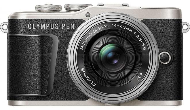 Olympus PEN E-PL9 + 14-42mm EZ Kit, must/hõbe