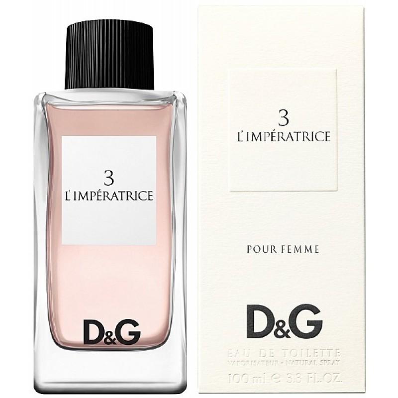 Dolce&Gabbana L'Imperatrice 3 Pour Femme Eau de Toilette 100ml