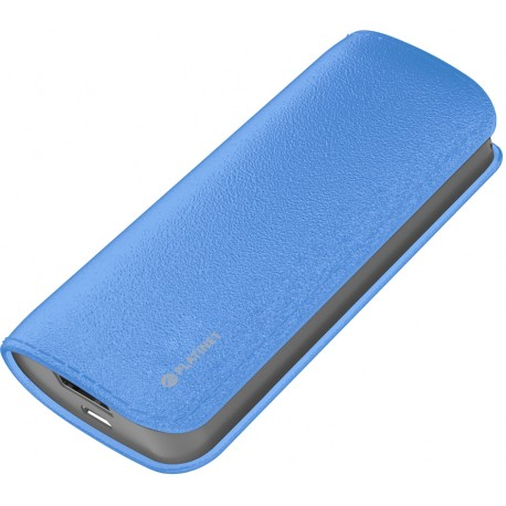 Platinet power bank Leather 5200mAh, blue (43409)