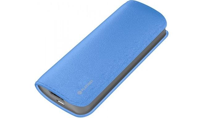 Platinet lādētājakumulators Leather 5200mAh, zils (43409)